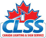 Canada Lighting and Sign Service Official Logo - Desktop Menu Logo